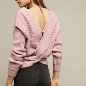 Angel of the North Knotted Back sweater